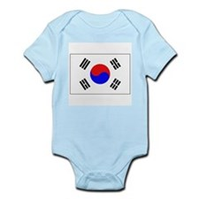 The Flag of (South) Korea Infant Creeper