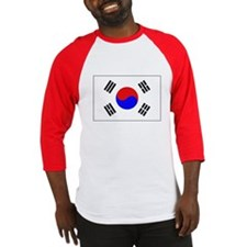 The Flag of (South) Korea Baseball Jersey