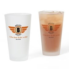 Cute Airlines Drinking Glass