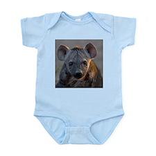 Hyena Baby Portrait Infant Bodysuit