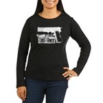 Browning Hi-Power Women's Long Sleeve Dark T-Shirt
