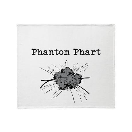 Phantom Phart Throw Blanket