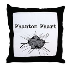 Phantom Phart Throw Pillow