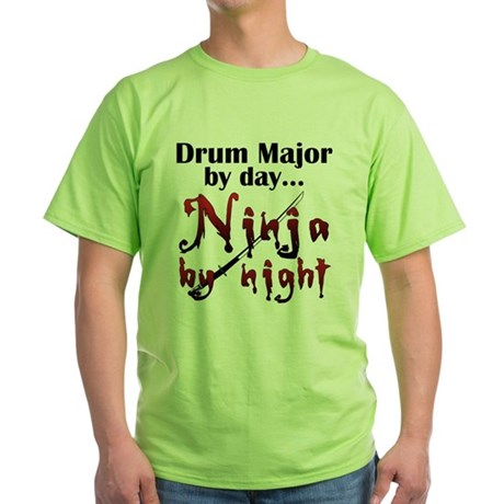 Drum Major Ninja Green T-Shirt