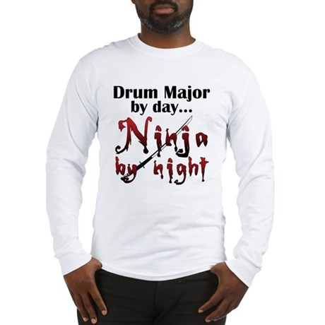 Drum Major Ninja Long Sleeve T-Shirt