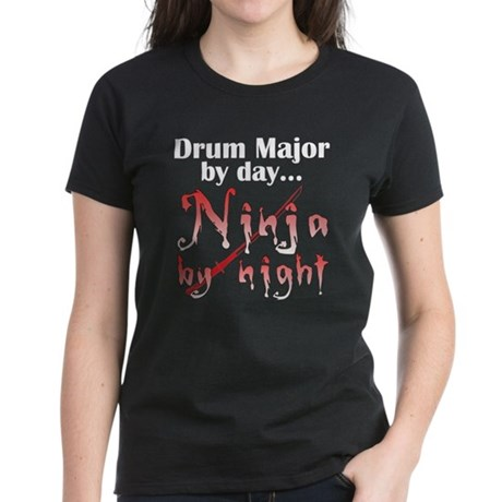 Drum Major Ninja Women's Dark T-Shirt