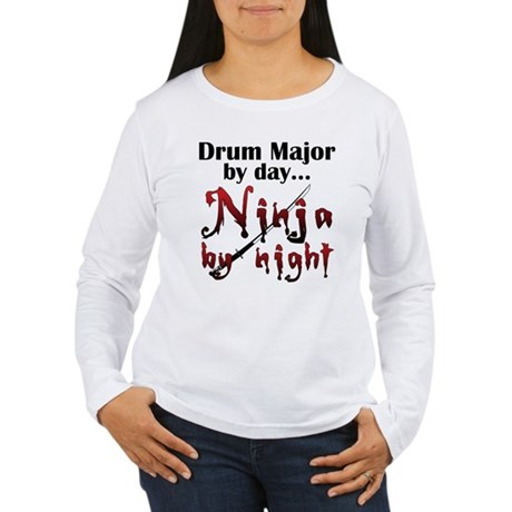 Drum Major Ninja Women's Long Sleeve T-Shirt