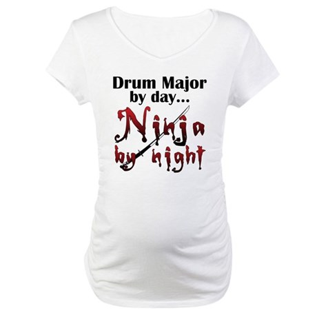 Drum Major Ninja Maternity T-Shirt