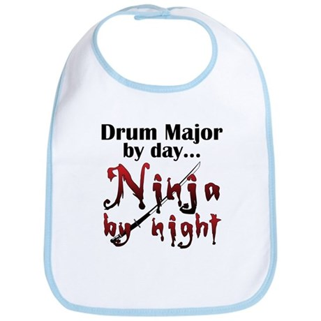 Drum Major Ninja Bib