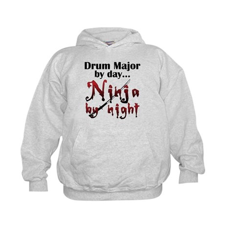 Drum Major Ninja Kids Hoodie