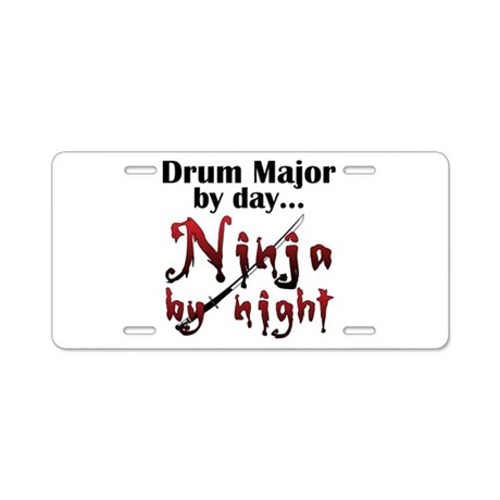 Drum Major Ninja Aluminum License Plate