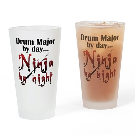 Drum Major Ninja Drinking Glass