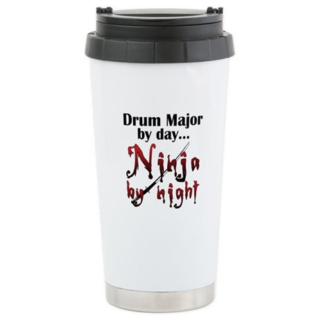 Drum Major Ninja Ceramic Travel Mug