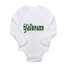 Love My Blackhawk Long Sleeve Infant Bodysuit