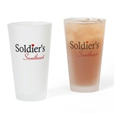 Soldier's Sweetheart Drinking Glass