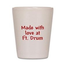 Made with love - Drum Shot Glass