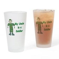My Uncle is a Soldier Drinking Glass
