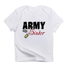 Army Sister Dog Tags Infant T-Shirt