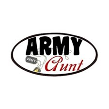 Army Aunt Dog Tags Patches