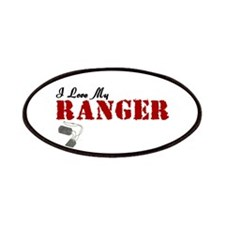 I Love My Ranger Patches