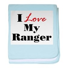 I Love My Ranger baby blanket