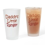 Cute Army sweetheart Drinking Glass
