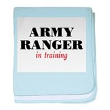 Ranger in Training baby blanket