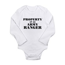 Property of an Army Ranger Long Sleeve Infant Body