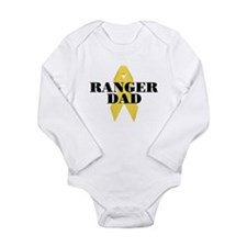Ranger Dad Ribbon Long Sleeve Infant Bodysuit