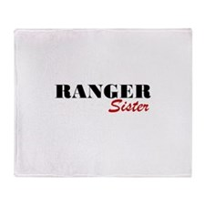 Ranger Sister Throw Blanket