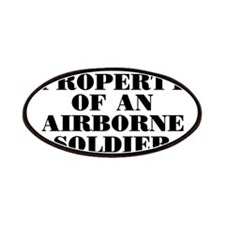 Property of an Airborne Soldi Patches
