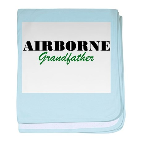 Airborne Grandfather baby blanket