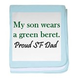 Green Beret - Dad baby blanket