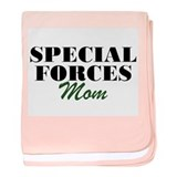 Special Forces Mom baby blanket