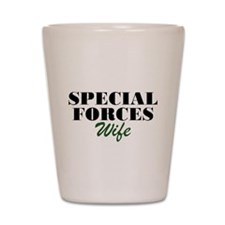 Special Forces Wife Shot Glass