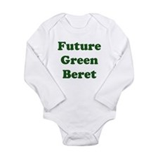 Future Green Beret Long Sleeve Infant Bodysuit