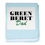 Green Beret Dad baby blanket
