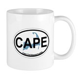 Cape Cod MA - Oval Design Mug