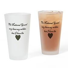 National Guard - Camo Drinking Glass
