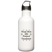 Proud Mom National Guard Water Bottle
