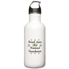 Proud Aunt National Guard Water Bottle