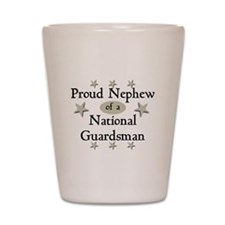 Proud Nephew National Guard Shot Glass