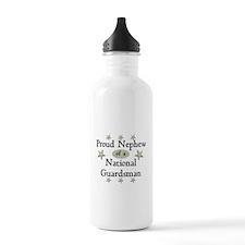 Proud Nephew National Guard Water Bottle
