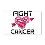 Fight Cancer Car Magnet 20 x 12