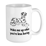 Wake Me Up Large Mug