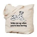 Wake Me Up Tote Bag