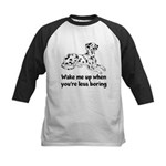 Wake Me Up Kids Baseball Jersey