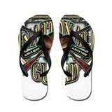US Army National Guard Shield Flip Flops
