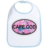Cape Cod MA - Oval Design Bib