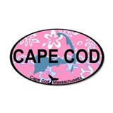 Cape Cod MA - Oval Design 22x14 Oval Wall Peel